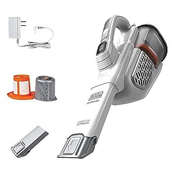BLACK+DECKER Dustbuster Handheld Vacuum Cordless AdvancedClean+ White  HHVK320J10