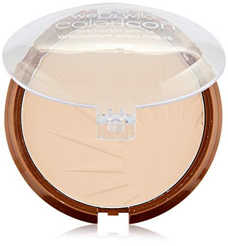 Wet N Wild - Coloricon™ Bronzer SPF 15 - Bronzer für einen natürlich gebräunten Look mit Lichtschutzfaktor 15, Reserve Your Cabana, 1er Pack, 13g