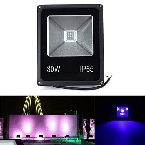 CALALEIE 30W UV LED Proyector Reflector luz 365/375/385/395/405 /...