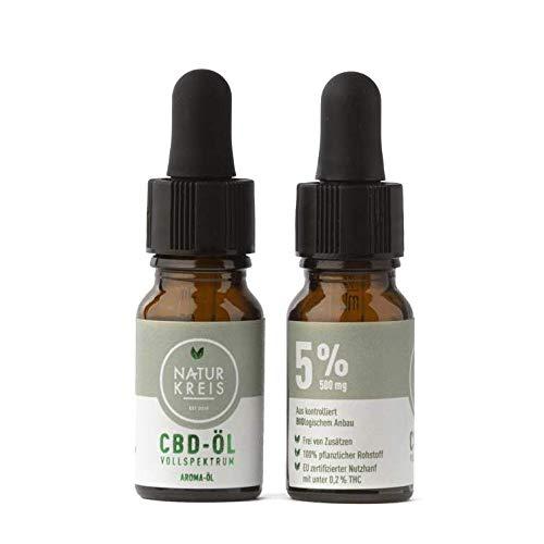 CBD Aroma-Öl Vollspektrum 5%