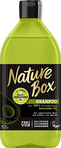 NATURE BOX Shampoo Avocado-Öl, 1er Pack (1 x 385 ml)