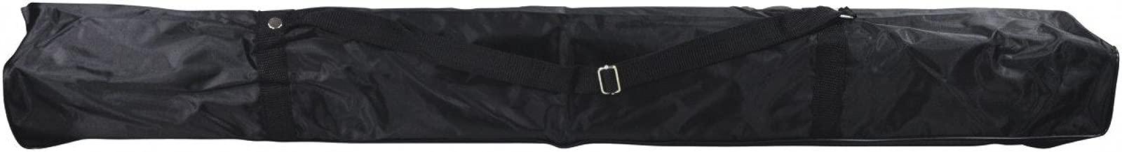 Sac Noir Haute Qualit/é pour Pied Microphone avec 2 Bandouli/ères et une Fermeture /à Glissi/ère Electrovision