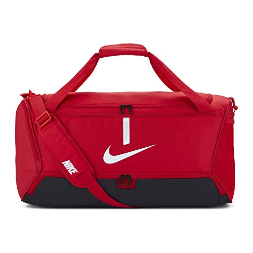 NIKE Unisex's Academy Team-Sp21 Sports Bag, University Red/Black/White, One...