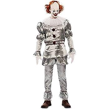 Disfraz de Payaso del Terror para hombre: Amazon.es: Juguetes y juegos