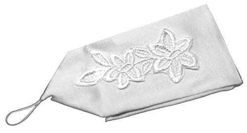 Helgas Modewelt Lilly, Kommunionhandschuhe, fingerlose Handschuhe, one size