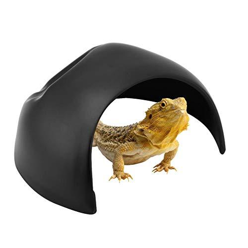 Plastic Reptiel Grot, Reptiel Huizen Amfibieën Lizard Slang Schildpad Spin Nest Verbergen Habitat voor Aquariumvissen Tank Terrarium Decor Accessoires