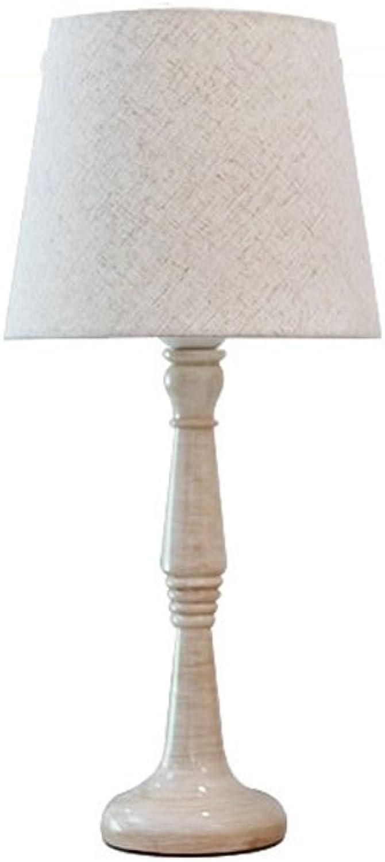 Amerikanisches europäisches nordisches einfaches einfaches einfaches Retro- französisches rustikales Schlafzimmer-Schlafzimmer-Nachttisch-Wohnzimmer-Harz-Tischlampe B07DDB98HP | Discount  a16d1d