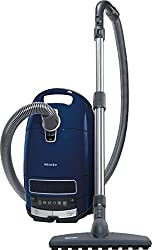 Miele Complete C3 Parquet EcoLine Bodenstaubsauger (mit Beutel, 4,5 Liter Staubbeutelvolumen, 550 Watt, 12 m Aktionsradius, inkl. flexibler und bodenschonender Parkettbürste) blau