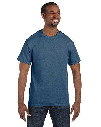 Gildan, maglietta a maniche corte da adulto in cotone pesante 5000 Indigo Blue Small