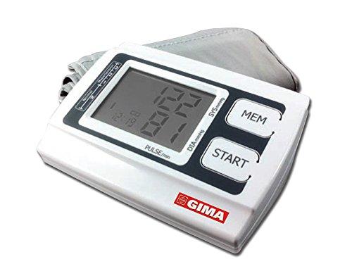 Gima - Sfigmomanometro Digitale Automatico Smart, da Braccio, Misura la Pressione Sanguigna...