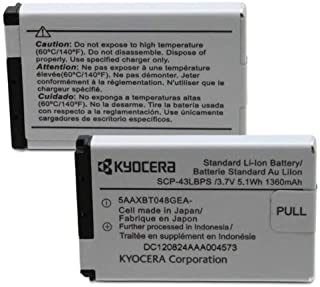 OEM KYOCERA SCP-43LBPS Battery for Duramax E4255 DURAXT E4277 DURAPRO DURACORE (Renewed)