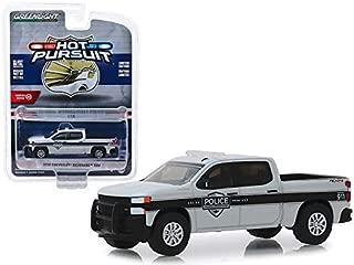 StarSun Depot New 2019 Chevrolet Silverado SSV Pickup Truck General Motors Fleet Police Hot Pursuit Series 32 1/64 Diecast Model Car by Greenlight