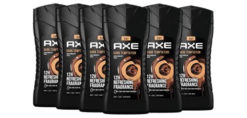 Axe Duschgel Dark Temptation dermatologisch getestet, 6er Pack (6 x 250 ml)