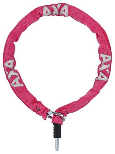 Axa Unisex– Erwachsene RLC 100 FahrradSchloss, rosa, One-Size