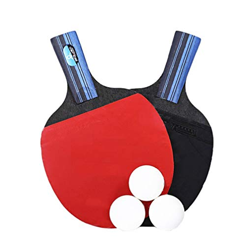 Why Choose BESPORTBLE 1 Set Table Tennis Rackets Professional Ping Pong Paddle Racket for Beginner T...