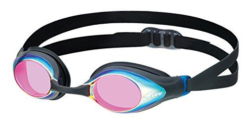 ビュー(VIEW) スイミングゴーグル SHINARI 競泳用 ミラータイプ GBLP V132MR
