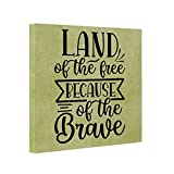 7 BEST Land of the free because of the brave SVG
