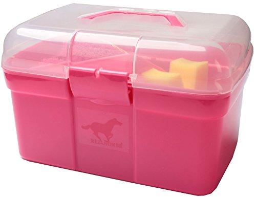 Red Horse reinigungsetui rosa 9-teilig 30 x 17 x 19 cm