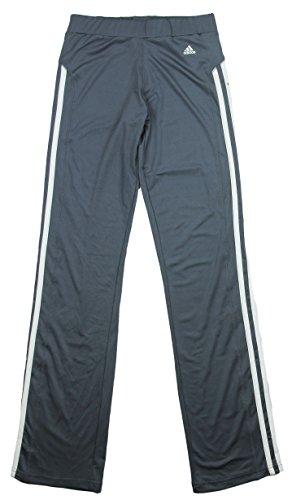adidas - Pantalones de Yoga para niña con Rayas, XS (XXXXXXXS), Urban Sky