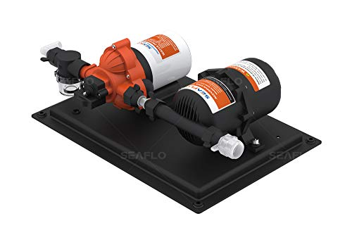 SEAFLO 33-Series Water Pump and Accumulator Tank System - 12V DC, 3.0 GPM, 45 PSI, 0.2 Gallon Tank