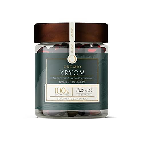 Kryom de OXOMIO - Heart Health Superba Boost Krill (Aceite de krill puro y natural (300 cápsulas))