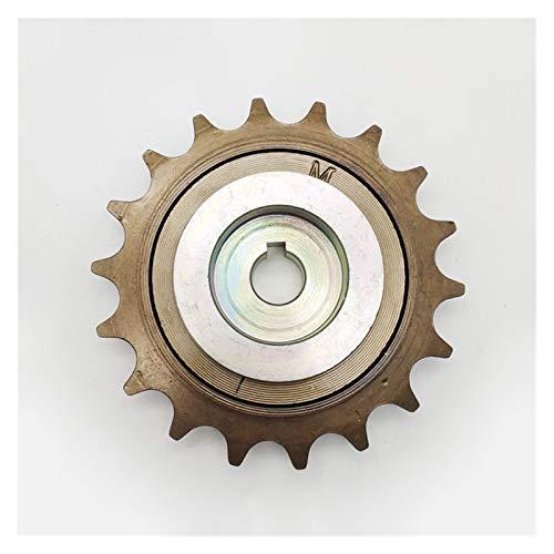 GYLB Wbcmwh El Kit de ebike dejó el Adaptador de Rueda Libre de la Unidad para Unitemotor MY1016Z MY1018 Motor Motor Windowwheel Piezas y Accesorios de Bicicletas (Color : Dapter and 18T)