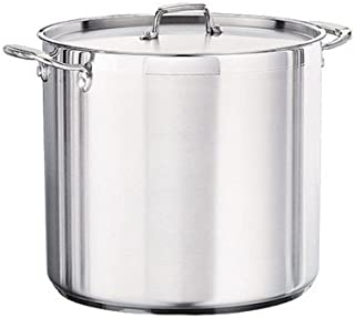 24 Qt Commercial Covered Stock Pot