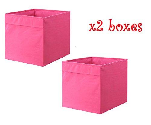 2 x 33 x 38 x 33 cm IKEA DRONA/oficina en casa caja de almacenamiento perfecto para todo
