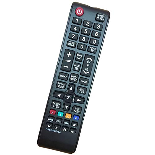 Nuevo Reemplace AA59-00741A Mando Universal TV Samsung Adecuado para Samsung HDTV LED Plasma LCD LED Smart TV AA59-00602A BN59-01247A BN59-01175N UE39F5000AK UE39F5000AW