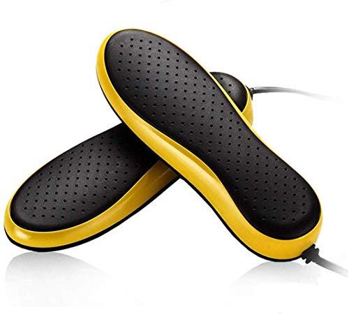 Schuhtrocknung Elektrischer Schuhtrockner Boot Wärmertrockner, tragbare Handschuhe Schuhheizung, mit Timer Temperaturer Getriebe, Sterilisatortrockner (Farbe: schwarz) (Color : Black)