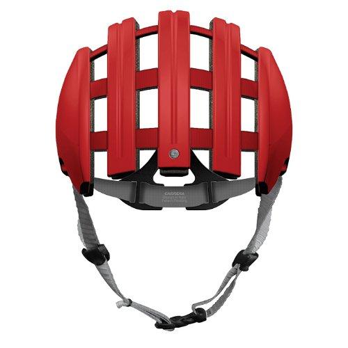 Carrera Casque de Cyclisme – Foldable Large Rouge