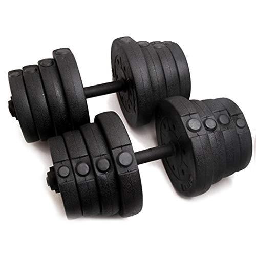 Pesas Libres Ajustables Pesas De Gimnasia, Hombres Y Mujeres Fitness Fitness Músculos De Los Músculos Equipos De Fitness, Para Gimnasio Home, Etc., Anti-rodamiento, Combinación 20kg ( Size : 10kg*2 )