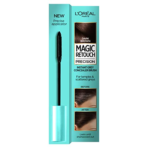 Loreal Magic Retouch Precision Brush Haarfärbemittel, Dark Brown, 8 ml