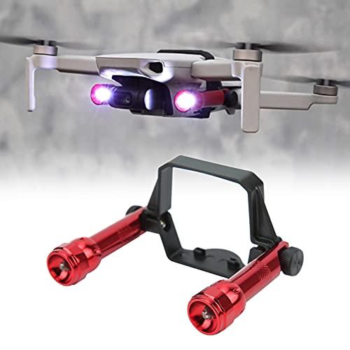 Linterna desmontable para drones, kit de linterna para drones fácil de instalar para DJI Mavic Mini 2