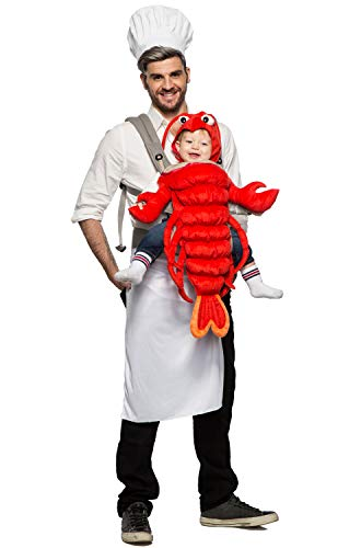 Seeing Red Unisex Baby Master Chef and Maine Lobster Costume Baby Carrier One Size