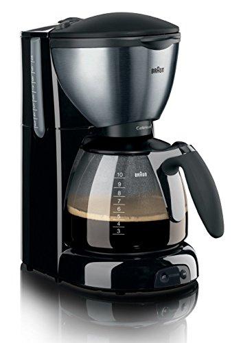 Braun KF570 CafeHouse Kaffeeautomat mattschwarz/metallic