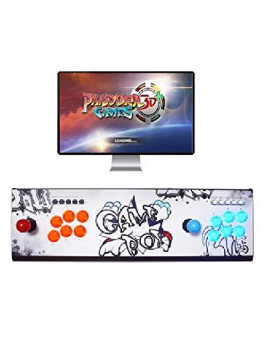 Theoutlettablet@ - Pandora Box 3D WiFi con 4018 Juegos Retro Consola Maquina Arcade Video Gamepad VGA/HDMI/USB