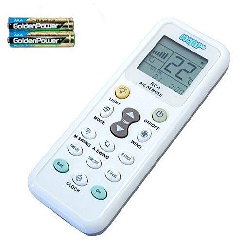 HQRP Universale Klimaanlage Fernbedienung kompatibel mit Samsung Sanyo Amcor Toshiba Carrier und andere Klimaanlagen
