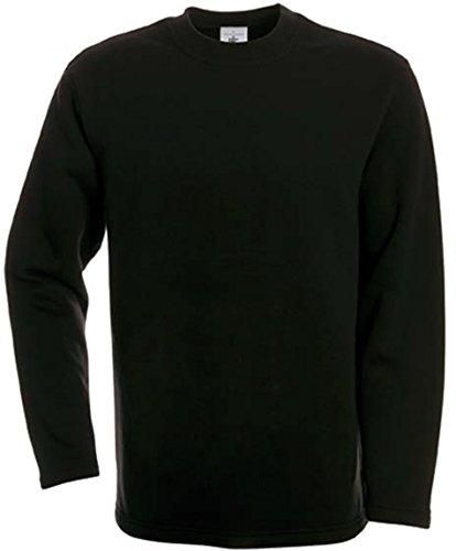 Kasten-Sweatshirt 'Open Hem', Farbe:Black;Größe:XXL XXL,Black