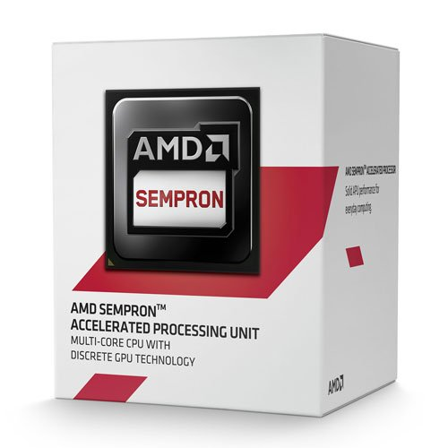 AMD AM1 Sempron 3850 - Procesador 4 x 1.3 GHz/2 MB Box
