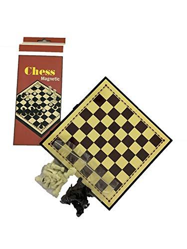 国内メーカー製 マグネットチェス セット MC-63 クラシック 旅行 チェス盤 折りたたみ 知育玩具 子供 大人向け 家族一緒に