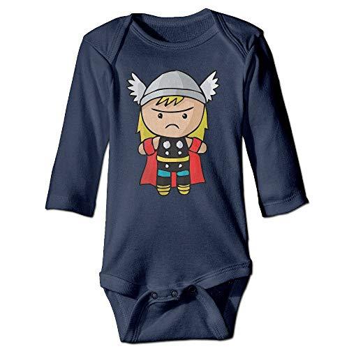 FGRFQ Combinaison Bébé Unisex Baby Bodysuits The Cutest Cartoon Thor