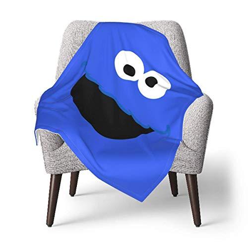 63251vdgxdg C-oo-kie Mo-NST-er Baby Blanket Ultra-Soft Micro Fleece Blanket Gifts 40 Inch*30 Inch
