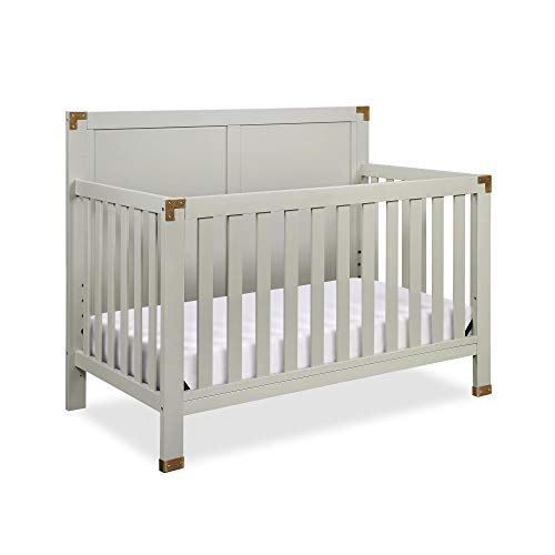 Lowest Prices! Baby Relax Mile 5-in-1 Convertible Crib, Graphite Grey
