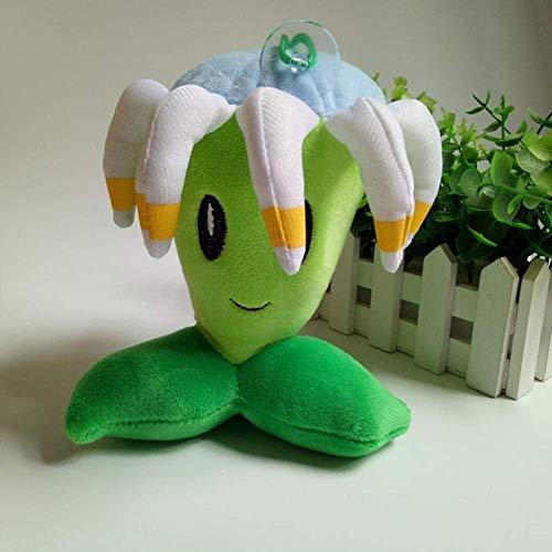 DINGX Weiche Spielzeug Bumerang Puppe Jungen und Mädchen Geburtstagsgeschenke mit Saugern 15 * 20 cm Pflanzen vs Zombies Plüschspielzeug Chuangze