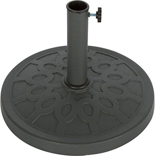 Trademark Innovations Dekorativer Schirmständer aus Kunstharz, 44 cm Durchmesser.