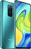 Xiaomi Redmi Note 9 (128GB, 4GB) 6.53', 5020mAh Battery, MTK Helio G85, Dual SIM GSM Unlocked Global 4G LTE (T-Mobile, AT&T, Metro, Straight Talk) International Model (128GB SD Bundle, Forest Green)