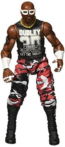 WWE Serie Elite 45 Figura Acción - D-Von Dudley W/ Accesorio de Mesa y Gafas