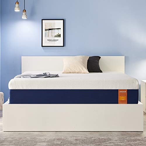 JINGXUN Full Size Mattress 9 Inch Gel Memory Foam Full Mattress for Cool Sleep & Pressure Relief, Premium Gel Multi Layered Memory Foam Bed Mattress in a Box, Easy Set-Up