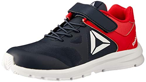 Reebok Rush Runner Alt, Scarpe da Trail Running Bambino, Multicolore (Collegiate Navy/Primal Red 000), 29 EU